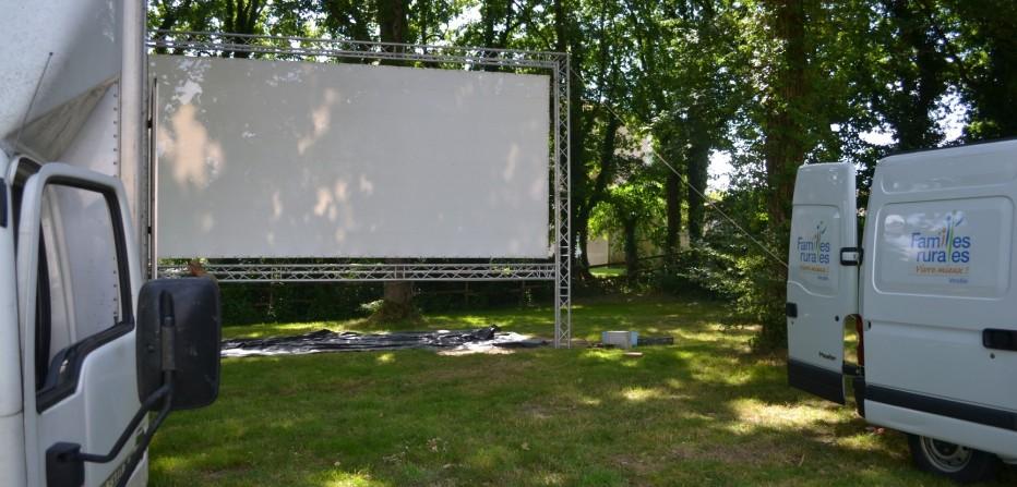 Cinéma de plein air en Vendée