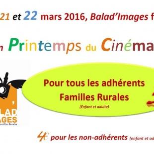 Balad'Images fait son printemps du cinéma !