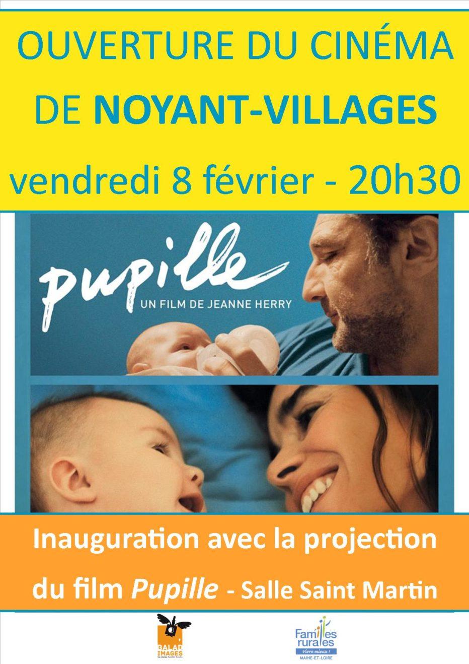 Inauguration de la salle à Noyant-Village