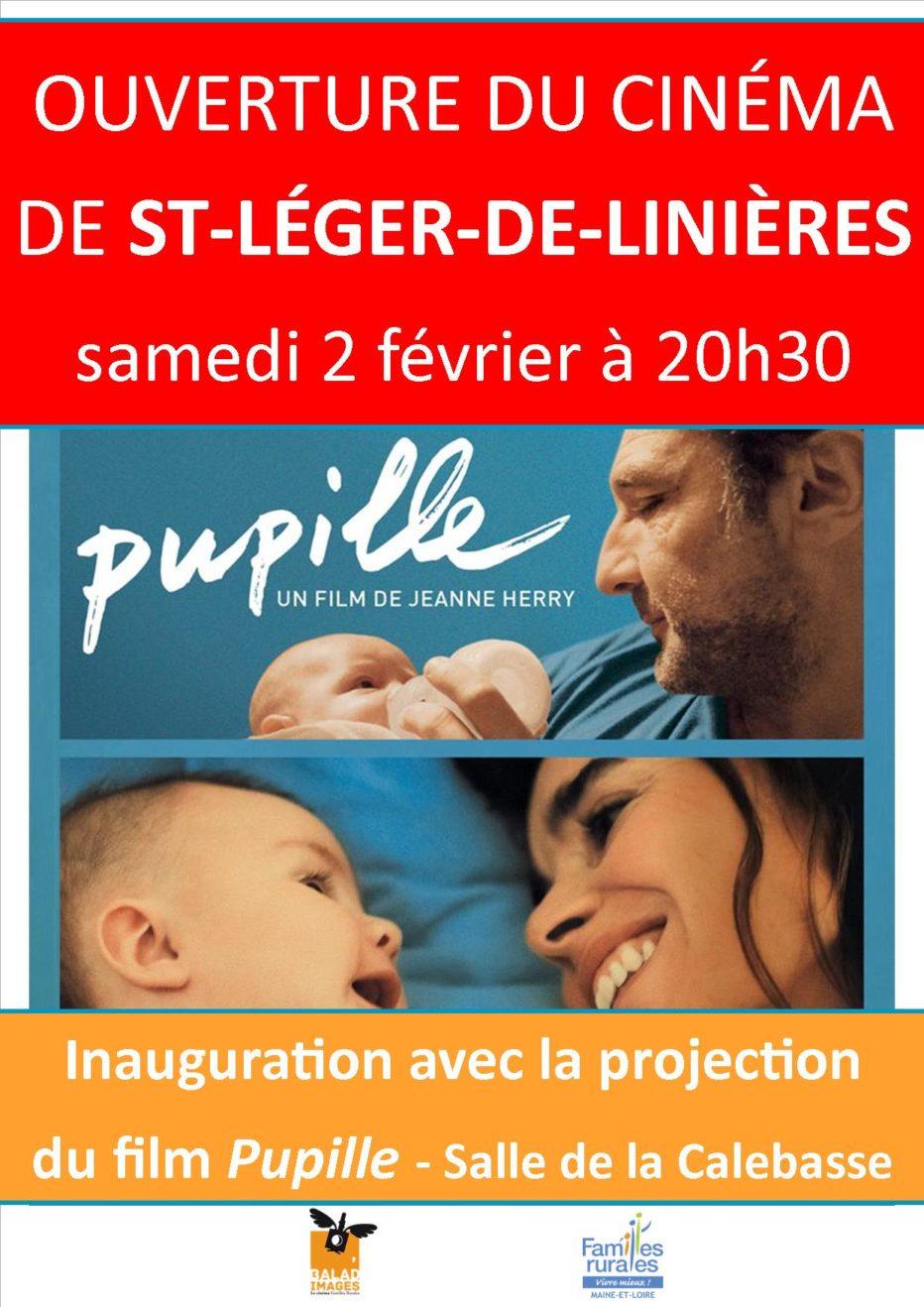 Inauguration de la salle à St-Léger-de-Linière