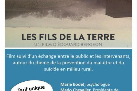 Ciné-débat | LES FILS DE LA TERRE