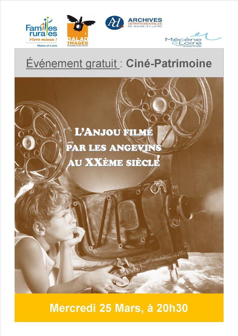 Ciné-Patrimoine à Tiercé